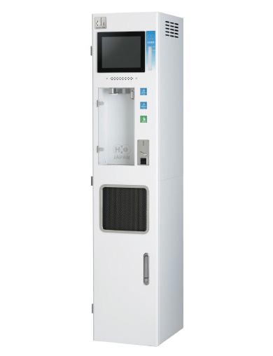 水素濃度計を搭載したハイスペックモデル水素水サーバー H2 JV1